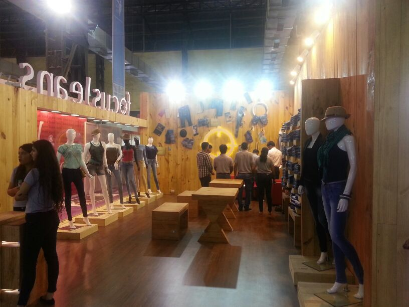 Exhibition stand of Focus Jeans | 61st National Garment Fair